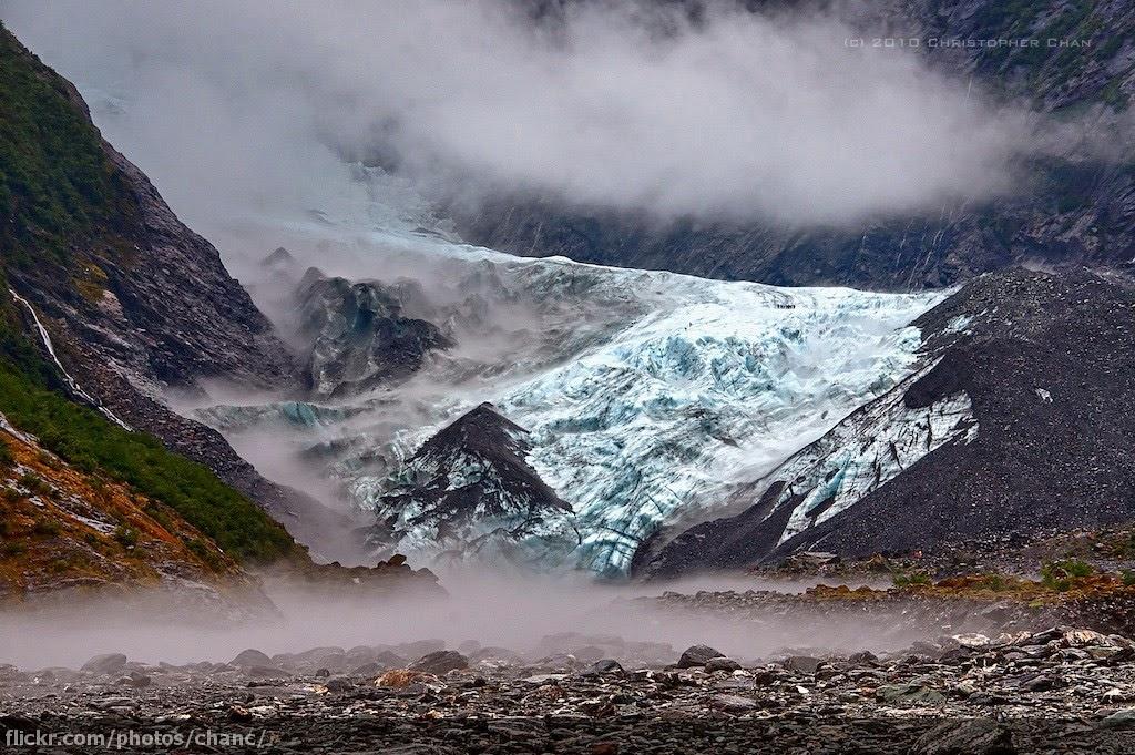 在紐西蘭 New Zealand 遭到三位金髮辣妹吃醋白眼 Franz Josef Glacier New Zealand