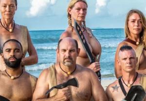 Naked and Afraid Team 原始生活21天 Naked and Afraid 參賽者脖子佩戴的項鏈