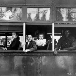 Robert Frank Trolley New Orleans 1955