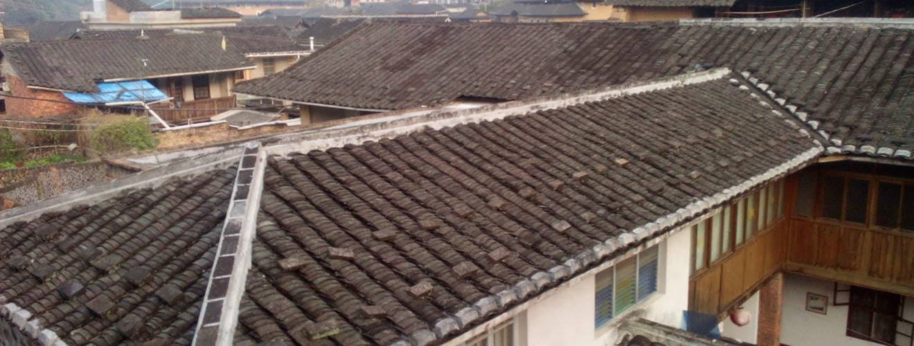 Youth Hostels Morning Taxia Village Nanjing Fujian PROC 福建南靖塔下村青年旅舍 YHA 的寒冷清晨|旅行中國