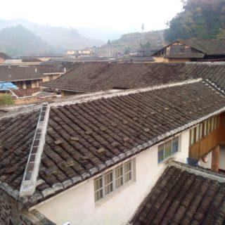 Youth Hostels Morning Taxia Village Nanjing Fujian PROC 福建南靖塔下村青年旅舍 YHA 的寒冷清晨 旅行中國