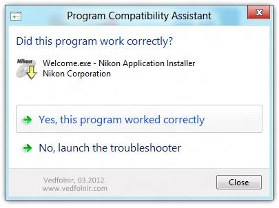 Nikon VIewNX on Windows 8 微軟 Microsoft Windows 8 Consumer Preview 使用心得與下載教學