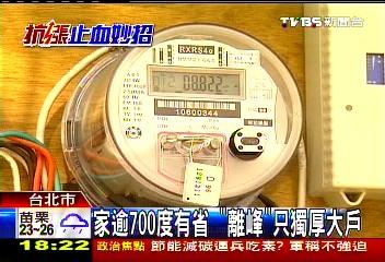 Smart Electric instrument Taiwan ROC 台電優惠時段?破解用電尖峰與離峰電費二段式計價的謠言