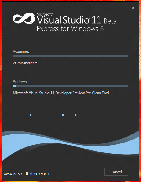Visual Studio 11 Beta Express for Windows 8 Developer Preview PreClean Tool 微軟 Microsoft Windows 8 Consumer Preview 使用心得與下載教學
