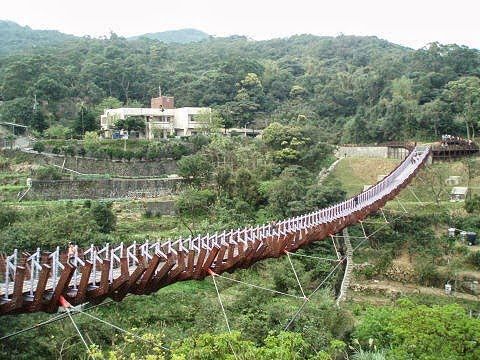 White Rock Lake Suspension Bridge Taipei 碧山巖跑步之旅 巧遇黃腔高中女生|約瑟夫札記