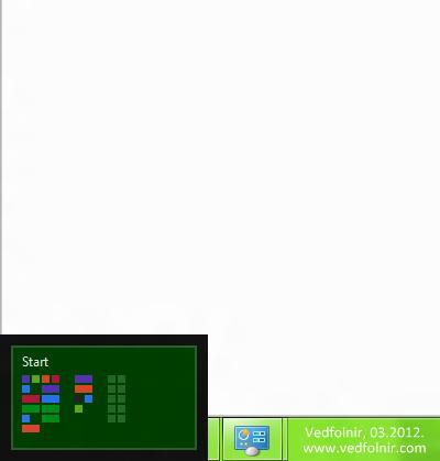 Windows 8 Left Side Toolbar 微軟 Microsoft Windows 8 Consumer Preview 使用心得與下載教學
