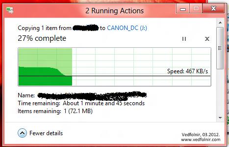 Windows 8 Running Action Interface 微軟 Microsoft Windows 8 Consumer Preview 使用心得與下載教學