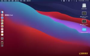 蘋果 Apple macOS Big Sur 作業系統 2020 更新體驗 Apple macOS Big Sur Desktop