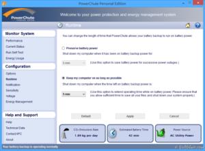 APC 不斷電系統 UPS 電源管理軟體 PowerChute 功能介紹與使用教學 UPS PMS PowerChute Information Runtime 25