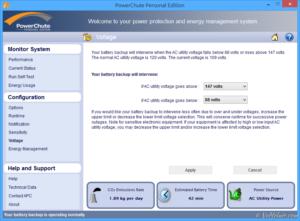 APC 不斷電系統 UPS 電源管理軟體 PowerChute 功能介紹與使用教學 UPS PMS PowerChute Information Voltage 26
