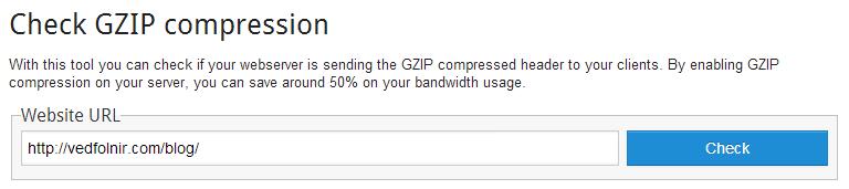 check gzip compressed web server Bluehost 伺服器 GZip 壓縮網頁、檔案優化功能的設定教學
