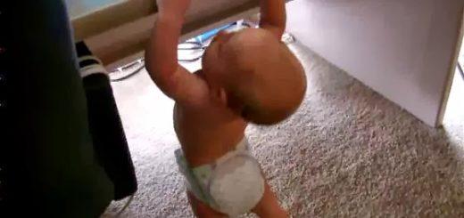 Baby horizontal bar 內湖碧湖公園單槓事件簿 約瑟夫札記