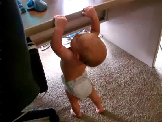 Baby horizontal bar 內湖碧湖公園單槓事件簿|約瑟夫札記